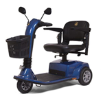 Companion 3-Wheel Full Size - The Companion GC340 scooter offers more legroom and foot room