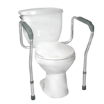 Toilet Safety Frame with Height and Width Adjustable Arms - 