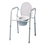 3-in-1 Steel Commode - 